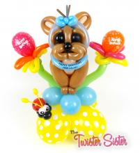 Yorkie Balloon Dog