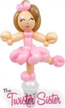 Ballerina Balloon Candy Cup