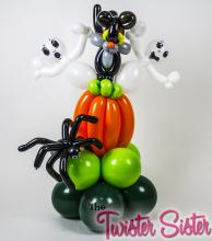 Halloween Cat Balloon Centerpiece
