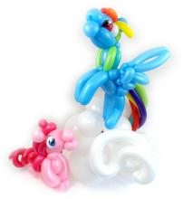My Little Pony Balloon Animals